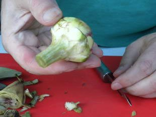 Comment préparer des artichaut violets : Photo de l'étape 7