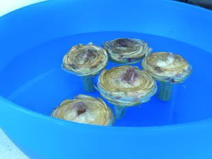 Comment préparer des artichaut violets : Photo de l'étape 8