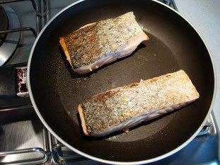 How to grill salmon well : Photo of step #2