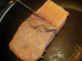 How to grill salmon well : Photo of step #4