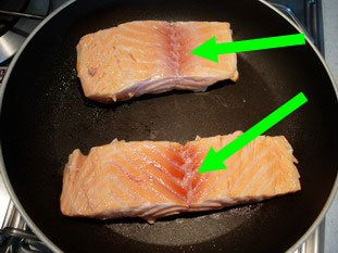 How to grill salmon well : Photo of step #5
