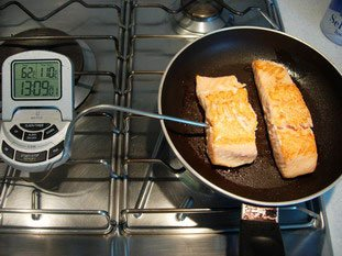 How to grill salmon well : Photo of step #7