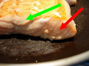 How to grill salmon well : Photo of step #8