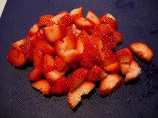 Il ne faut pas faire tremper les fraises dans l'eau : Photo de l'étape 3