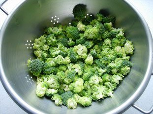How to prepare broccoli : Photo of step #5