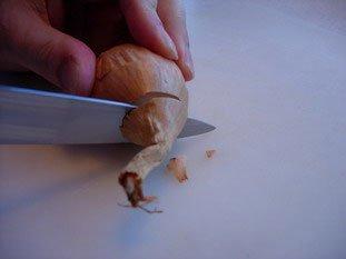 Comment préparer un oignon ou une échalote : Photo de l'étape 3