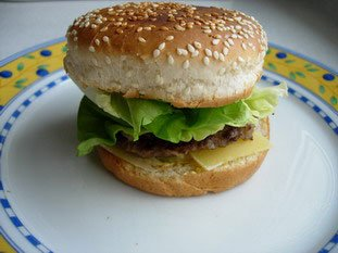Hamburgers : Photo of step #6