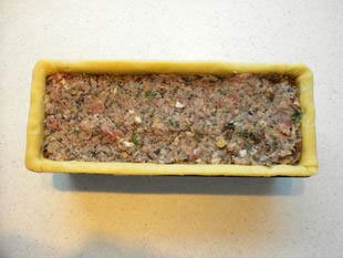 Paté en croute (terrine in a pie crust) : Photo of step #15