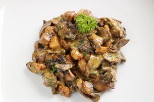 Sauté de porc crémeux aux champignons de Paris : Photo de l'étape 26