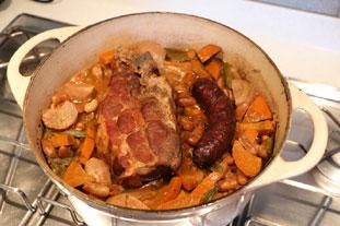 Deux cochonnailles en cuisson lente : Photo de l'étape 26