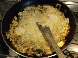 Escalope de veau à la crème : Photo de l'étape 9