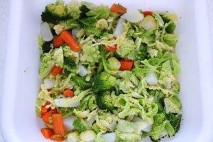 Côte de veau aux petits légumes : Photo de l'étape 4