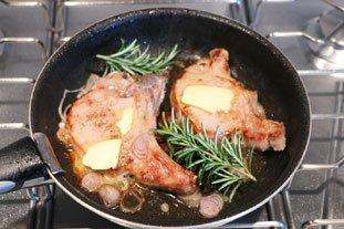 Côtelettes de porc au romarin : Photo de l'étape 5