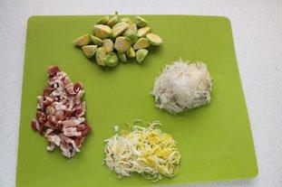 Belle pièce de viande confite et légumes fondants en cocotte lutée : Photo de l'étape 2