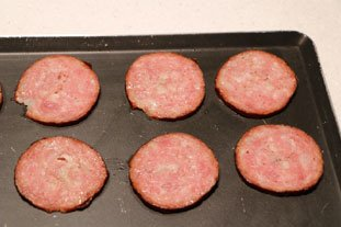 "Morteau sausage ""crisps"" : Photo of step #3"