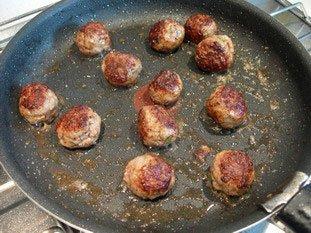 Boulettes de viandes à la tomates : Photo de l'étape 5