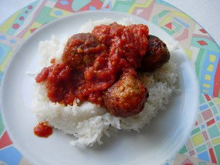 Boulettes de viandes à la tomates : Photo de l'étape 7