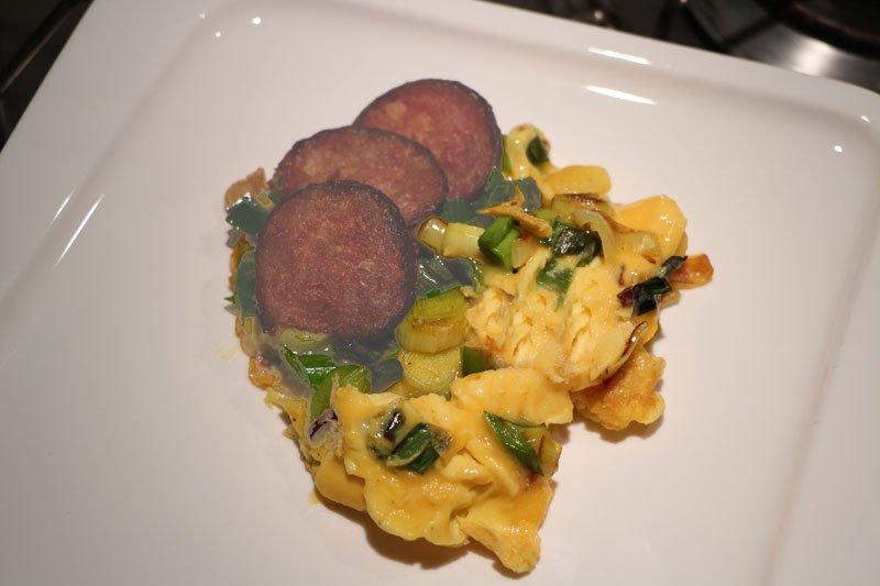 Cuisine oeufs rabattus aux poireaux for Cuisine 3d facile