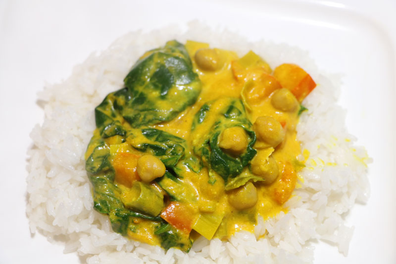 Curry de légumes indiens