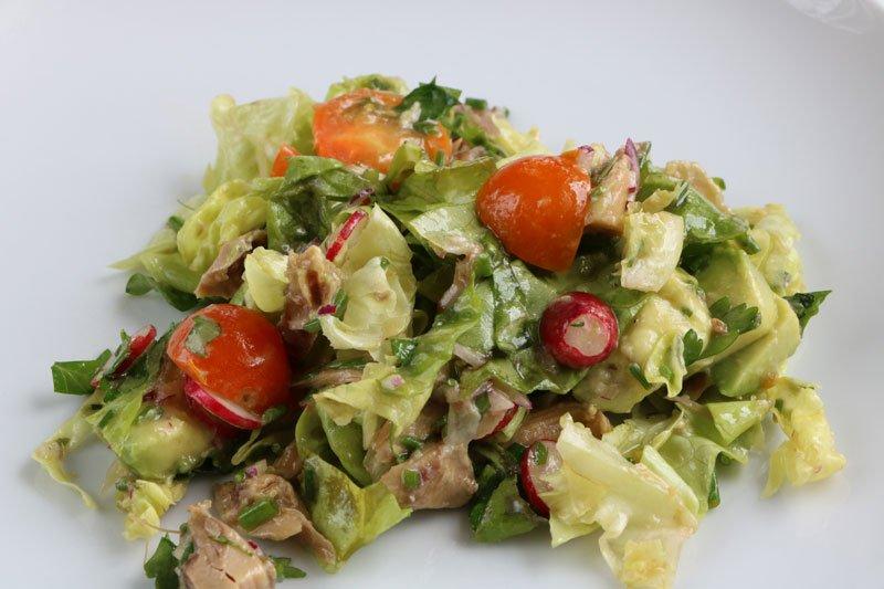 Cuisine salade poulet avocat for Cuisine 3d facile