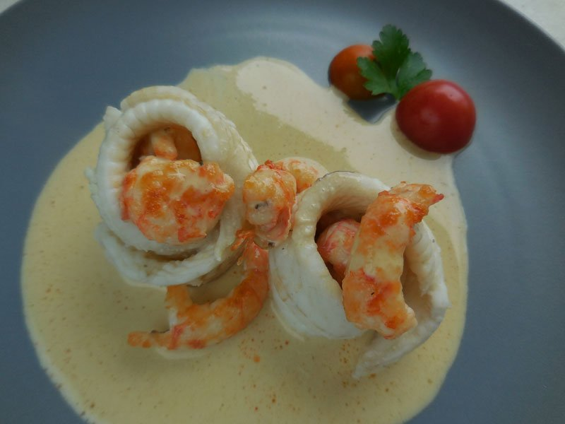 Cuisine turban de sole aux langoustines for Cuisine 3d facile