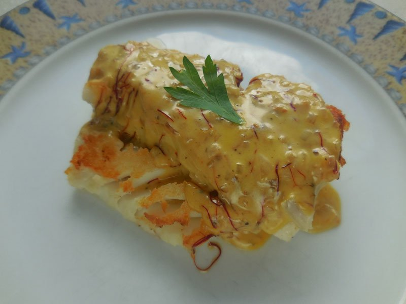 Cuisine dos de cabillaud au safran for Cuisine 3d facile