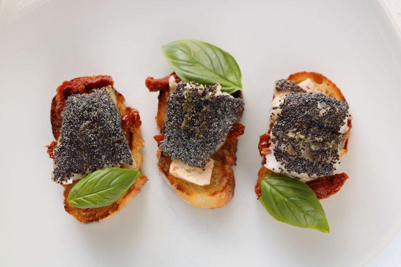 Cuisine bouch es de rouget aux graines de pavot - Cuisine poisson facile ...