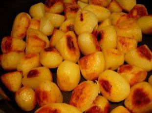 Fried potatoes or fried mash?