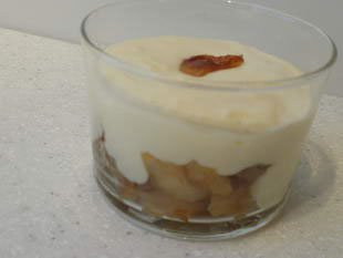 Pommes Tatin à la crème de mascarpone