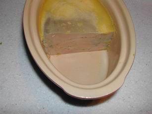 Calculateur pour foie gras