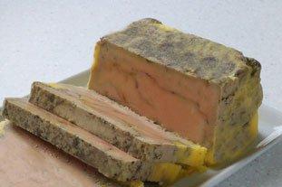 Le service du foie gras