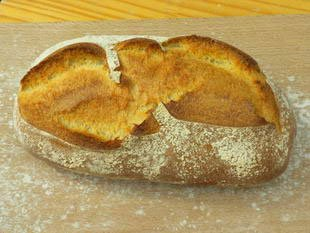 Classic French white bread